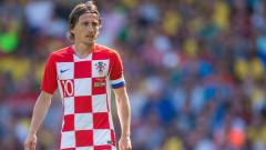 Лука Модрич страда за Хърватия