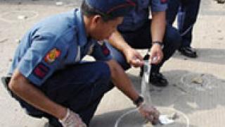 Самоубийствен атентат на филипинско летище