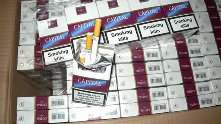 Задържаха 6 души и 900 кутии нелегални цигари при акция в Горна Оряховица и Лясковец