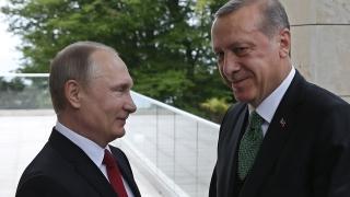 Ердоган и Путин се чуха по телефона, наблегнаха на териториалната цялост на Ирак и Сирия
