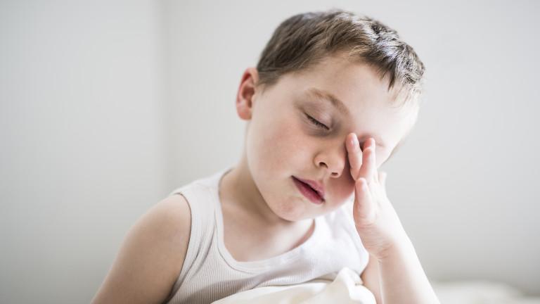 Проблем ли е вече безсънието и за децата
