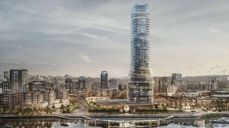 Снимка: Италианска компания ще построи най-високата сграда в Сърбия