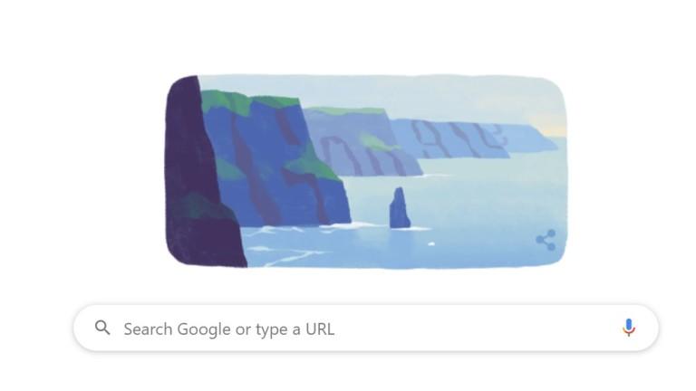 Google почете свети Патрик