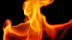 Пожар в складове в Казичене