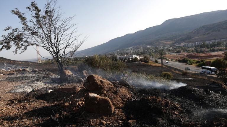Израелските военновъздушни сили обявиха, че са извършили първите си въздушни