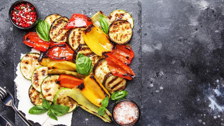 Защо да ядем зеленчуците печени
