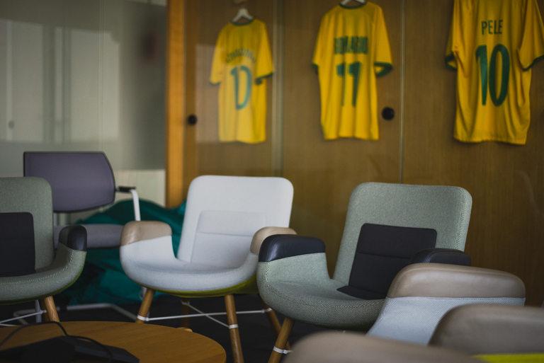 Конферентната зала, посветена на Бразилия