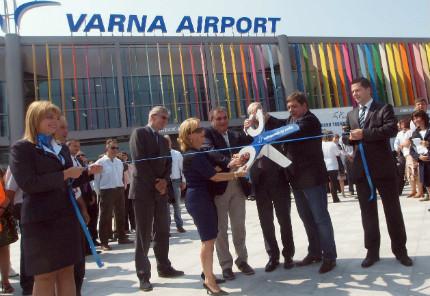 Откриха новия терминал на летище Варна