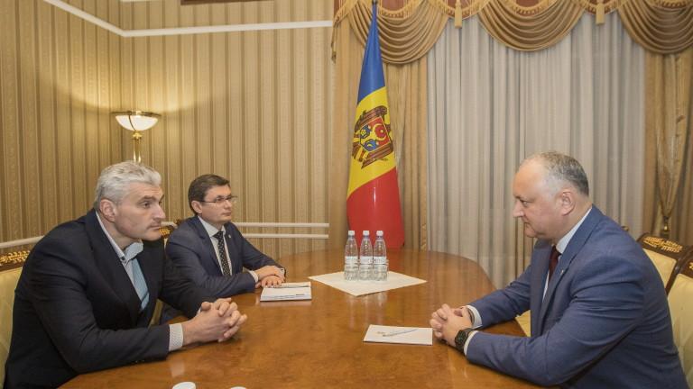 Додон номинира премиер на Молдова