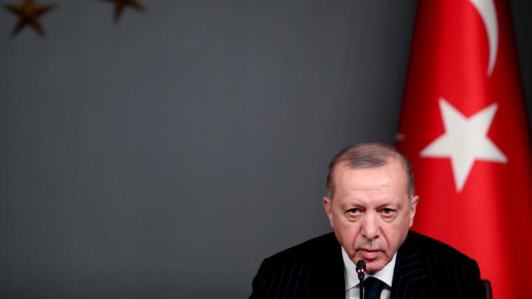 Турският президент РеджепЕрдоган заяви в сряда, че западните държави, които