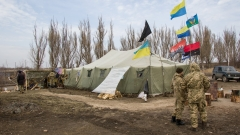 Трима убити и 16 ранени при боеве в Източна Украйна