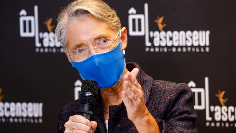 Във Франция министърът на труда Елизабет Борн е с положителен