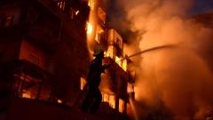 Най-малко 50 пострадали при пожар в Кайро