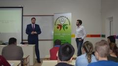 Министър Седларски откри курс по социално предприемачество в СУ