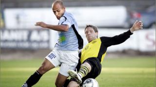 Тодор Янчев игра при победата на Рандерс