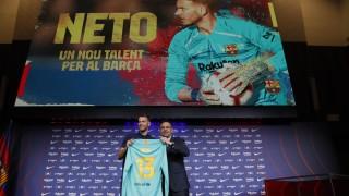 Нето подписа с Барселона за 4 години