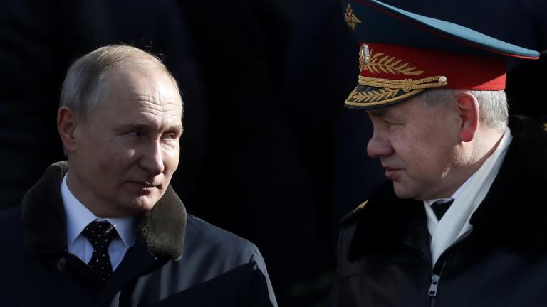 Министърът на отбраната на Русия Сергей Шойгу посети Сирия по