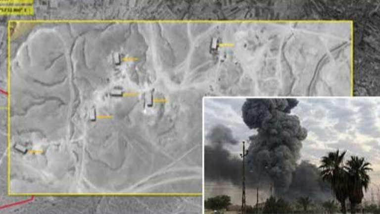 Въздушните удари, удариха област близо до сирийската граница във вторник
