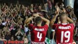 Несебър - ЦСКА 0:2, втори гол на Кубемба