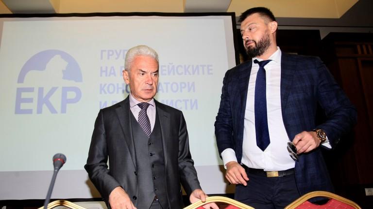Евродепутатът Николай Бареков, който е председател на
