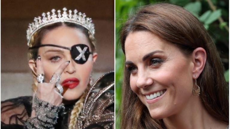 Какво е общото между Кейт Мидълтън и Мадона