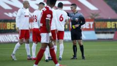 ЦСКА - Царско село 1:0, гол на Санкаре в края на мача!