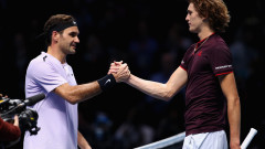 Роджър Федерер е първият полуфиналист в Лондон
