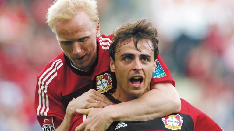 Байер (Леверкузен) откри българската звезда Димитър Бербатов за големия футбол.
