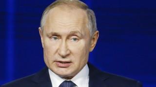 """Путин нарече САЩ """"велика страна"""""""