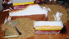 Полицаи от Ловеч заловиха 1 тон нелегален тютюн