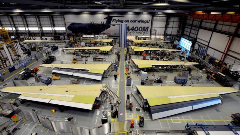 Airbus предупреди, че може да напусне Великобритания, ако скоро не