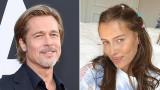Брад Пит, Никол Потуралски и това ли е новата жена до актьора