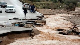 Как да действаме при наводнение съветват гръцките власти