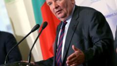 Жозеф Дол дойде в София, мъчи се да помогне на Борисов за кабинет