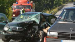 Катастрофа предизвика 5-километрово задръстване преди тунела на Железница