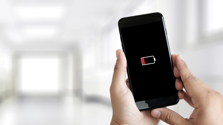 Снимка: Защо батерията на телефона  пада в студеното време?