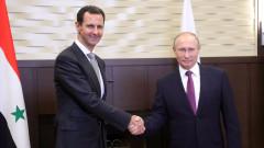 Изненадваща среща на Путин с Асад в Сочи