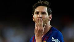 Барселона - Севиля 4:2, Меси принудително заменен!