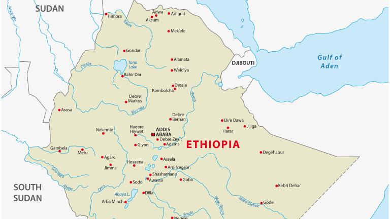 38 души загинаха при инцидент с автобус в Етиопия