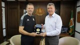 Стойчо Младенов се срещна с кмета на Банско