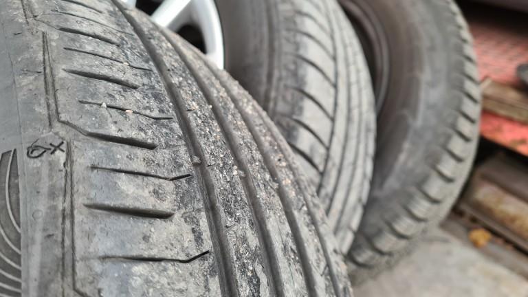 15 000 стари гуми са събрани в пунктовете в София