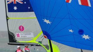 Австралия спечели златния медал във ветроходство клас фортинайнър за мъже