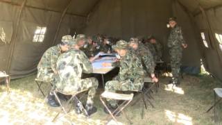 Курсанти от Велико Търново разкриха военнополева болница