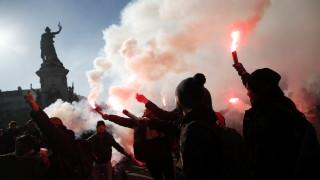 Френски прoфсъюзи призоват за нова транспортна стачка в Париж на 17 февруари
