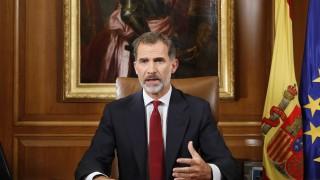 Каталуния наруши законите на страната, обяви испанският крал