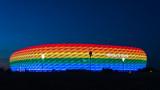 Унгария скочи: Плановете на Мюнхен да освети стадиона в цветовете на дъгата са опасни