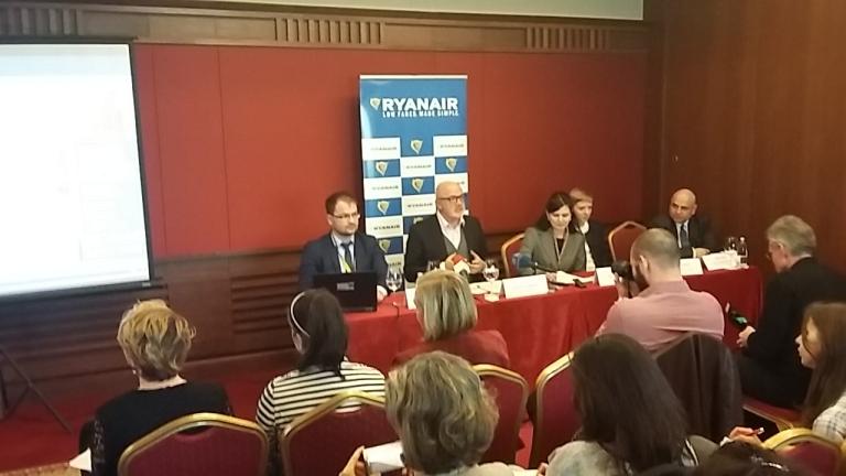 """Ryanair стъпва на летище """"София"""" с амбиция за 1,5 млн. пътници годишно"""