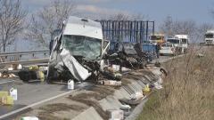 Мъж загина при тежка катастрофа край Разград