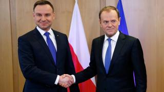Туск не е много ентусиазиран за мерките на Брюксел спрямо Полша