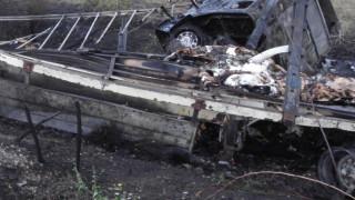 "Самозапалил се ТИР затвори АМ ""Марица"" в посока границата"